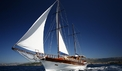 Gulet Linda sailing thourgh the Adriatic sea - dalmagic-cruise.com