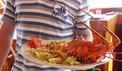 Our magnificent chef and Adriatic lobster - dalmagic-cruise.com